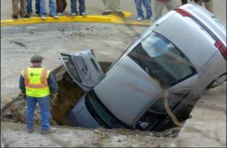 buche stradali - limiti di velocità