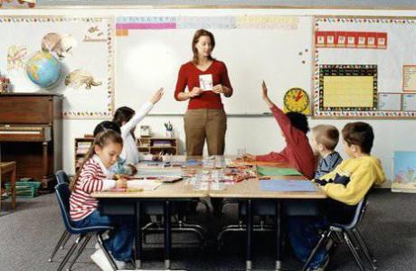 maestra asilo