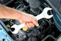 handle double wrench, maintenance a car