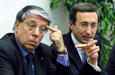 Conferenza stampa Fini - Giovanardi su droghe leggere e sentenza TAR legge Turco