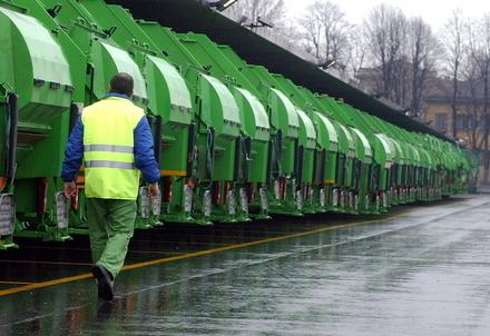 licenziamento rifiuti camion