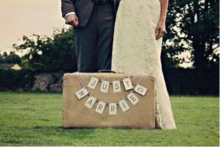 valigia sposi